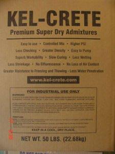 Gunite Admixtures | Kel-Crete Industries