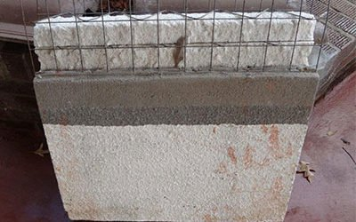 Low Cost Plaster Panels for Papua New Guinea Project
